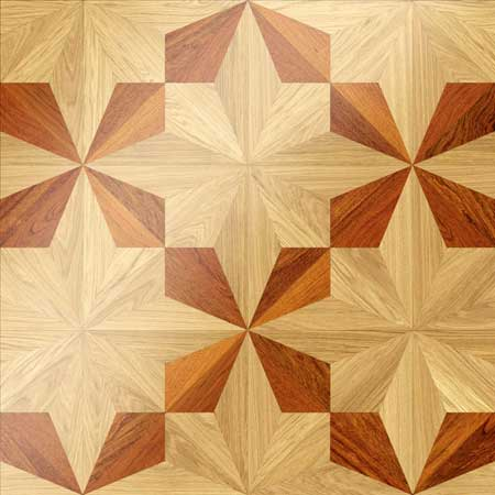 MX19 Parquet, face-taped, square edge, straight cut, unfinished