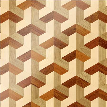 MX27 Parquet, face-taped, square edge, straight cut, unfinished