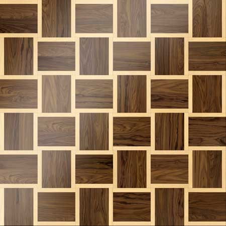 MX43 Parquet, face-taped, square edge, straight cut, unfinished