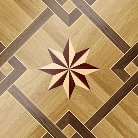 MX44 Parquet, face-taped, square edge, straight cut, unfinished