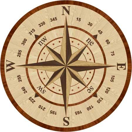 Navigator Wood Floor Medallion