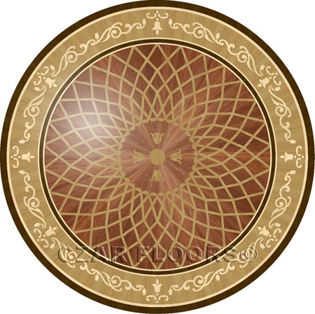 P2R Wood Floor Medallion