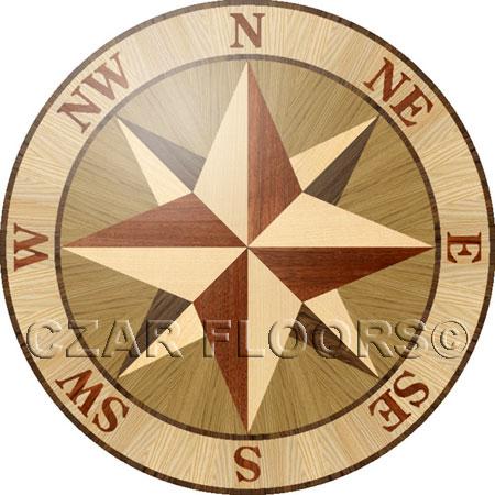 PCOMP02 Wood Floor Medallion