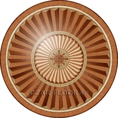 R101 Wood Floor Medallion