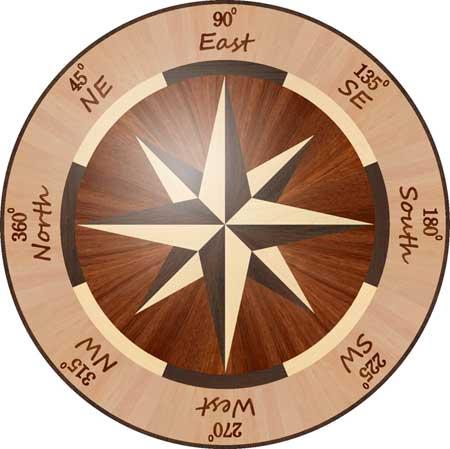 R1 Wood Floor Medallion