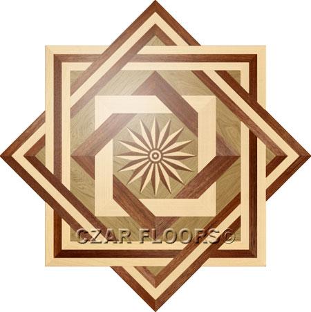 R2 Wood Floor Medallion