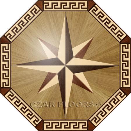 R3 Wood Floor Medallion