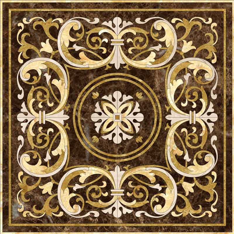Tito Marble Floor Medallion