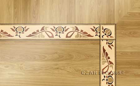B21 Wood Floor Border