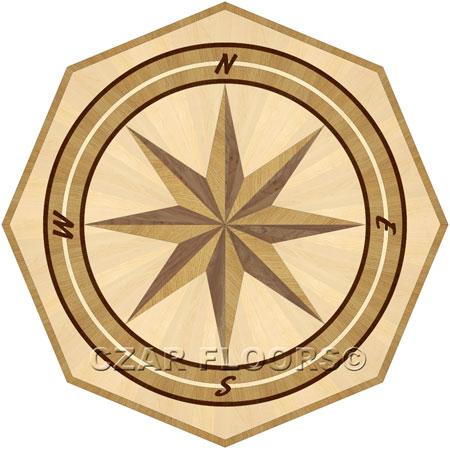 PC4 Wood Floor Medallion
