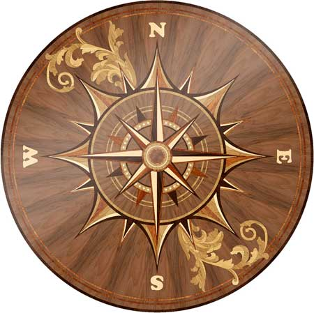 Manchester Wood Floor Medallion