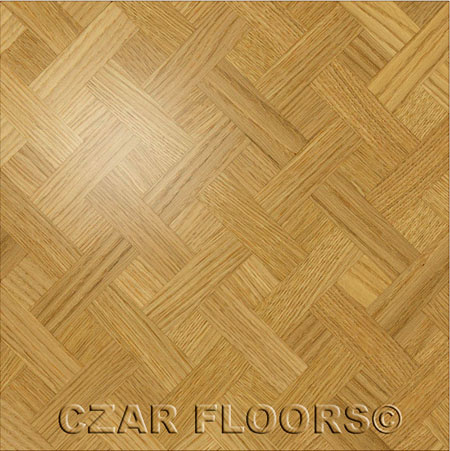 M21 Parquet, face-taped, square edge, straight cut, unfinished