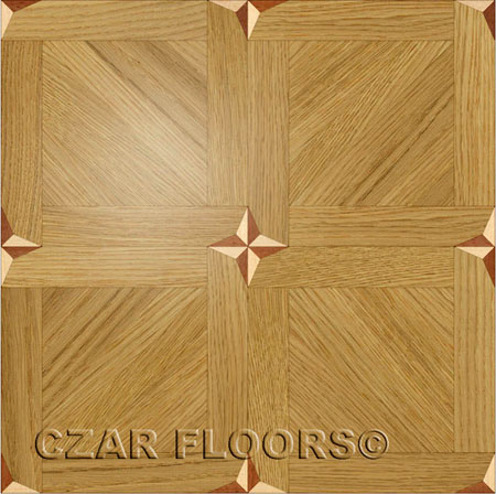 M14 Parquet, face-taped, square edge, straight cut, unfinished