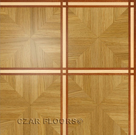 M13 Parquet, face-taped, square edge, straight cut, unfinished