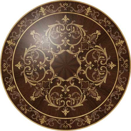 Rembrandt Wood Floor Medallion