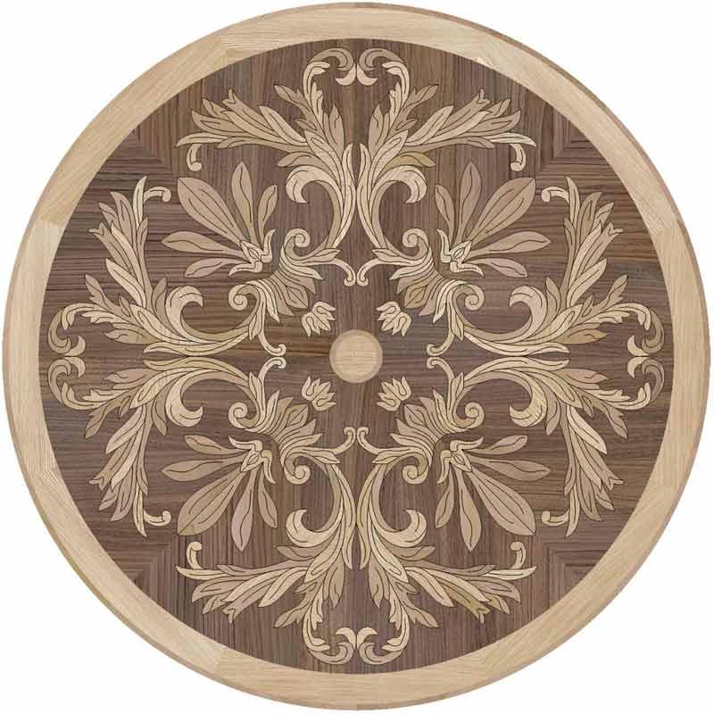 Silva Wood Floor Medallion