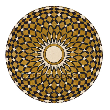 SR17 Marble Floor Medallion