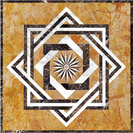 SR2 Marble Floor Medallion