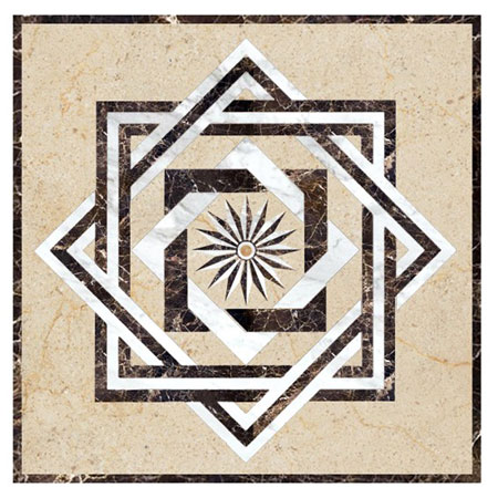 SR2B Marble Floor Medallion