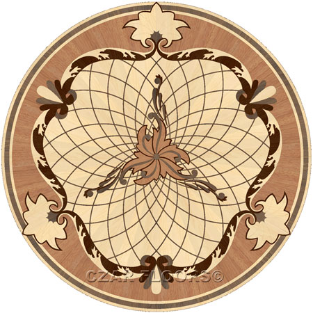 Picture of P5 in Wood Medallions