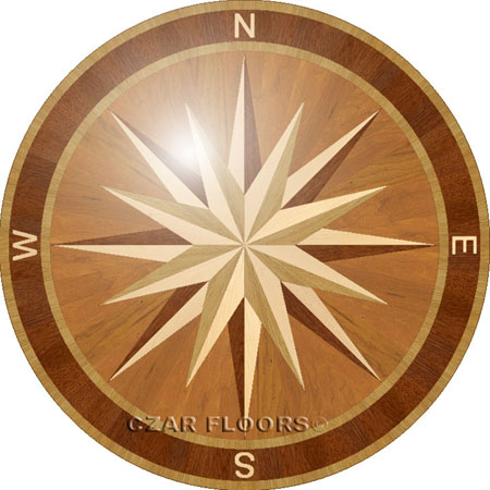 PC3 Wood Floor Medallion