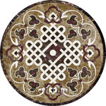 Flooring inlay: Serena Stone Medallion