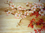 Flooring inlay:  Sakura Tree
