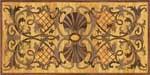Flooring inlay:  Padua Wood Medallion