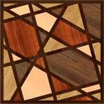 Flooring inlay:  Midtown Wood Medallion