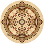 Flooring inlay:  Magic Wood Medallion