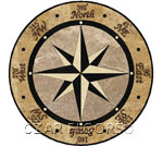Flooring inlay:  SR1 Stone Medallion