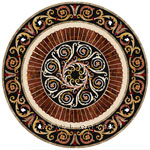 Flooring inlay:  SP37 Stone Medallion