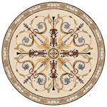 Flooring inlay: Solo Stone Medallion