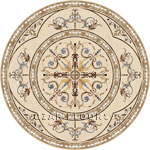 Flooring inlay:  Narnia Stone Medallion