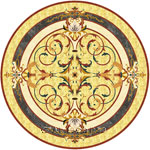 Flooring inlay:  Lucerne-II Stone Medallion