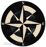 Flooring inlay:  Galaxy Stone Medallion