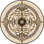 Flooring inlay:  Galicia Stone Medallion
