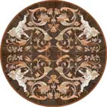 Flooring inlay:  Sonata Wood Medallion