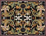 Flooring inlay:  Harmony Stone Medallion
