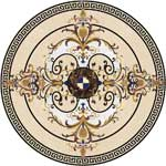 Flooring inlay:  Malta Stone Medallion