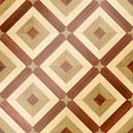 Flooring inlay:  MODA