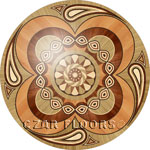 Image of P15 Wood Medallion