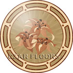 Flooring inlay: P16 Wood Medallion