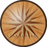 Flooring inlay:  PC2 Wood Medallion