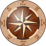 Flooring inlay:  R1 Wood Medallion