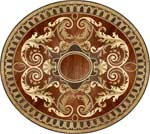 Image of RZ260 Wood Medallion