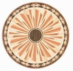 Flooring inlay: R29 Wood Medallion