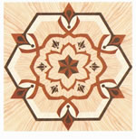 Flooring inlay: R58 Wood Medallion