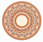 Flooring inlay: R112 Wood Medallion