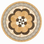 Flooring inlay: R21 Wood Medallion